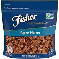 FISHER Chef's Naturals Pecan Halves, No Preservatives, Non-GMO, 10 oz