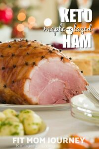 Perfect for any holiday, Keto Maple Glazed ham is a sugar-free THM:S take on a classic Christmas or Easter Ham with all the taste and non of the carbohydrates.