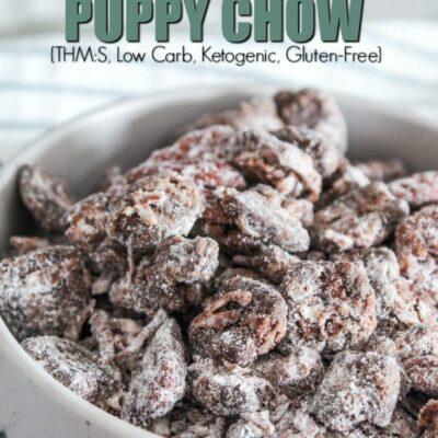 Keto Puppy Chow {Keto Muddy Buddies}