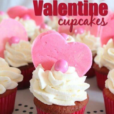 Mini Keto Valentine Cupcakes