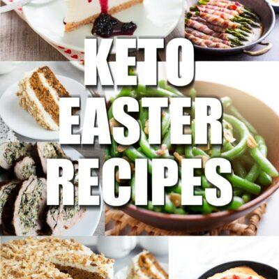 Keto Easter Recipes
