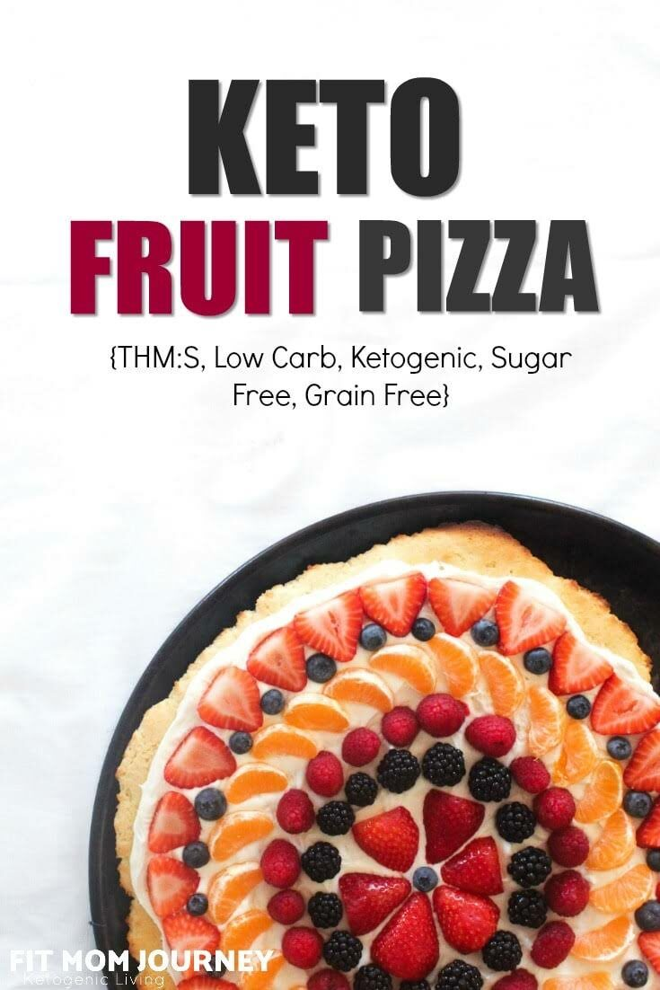 Keto Fruit Pizza