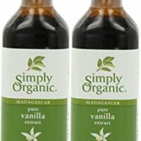 Simply Organic, Madagascar Pure Vanilla Extract, 4 fl oz (118 ml) - 2pcs