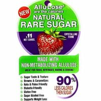 All-u-Lose Natural Rare Sugar Sweetener, Crystalline Allulose - 3 lb. Stand-up Pouch