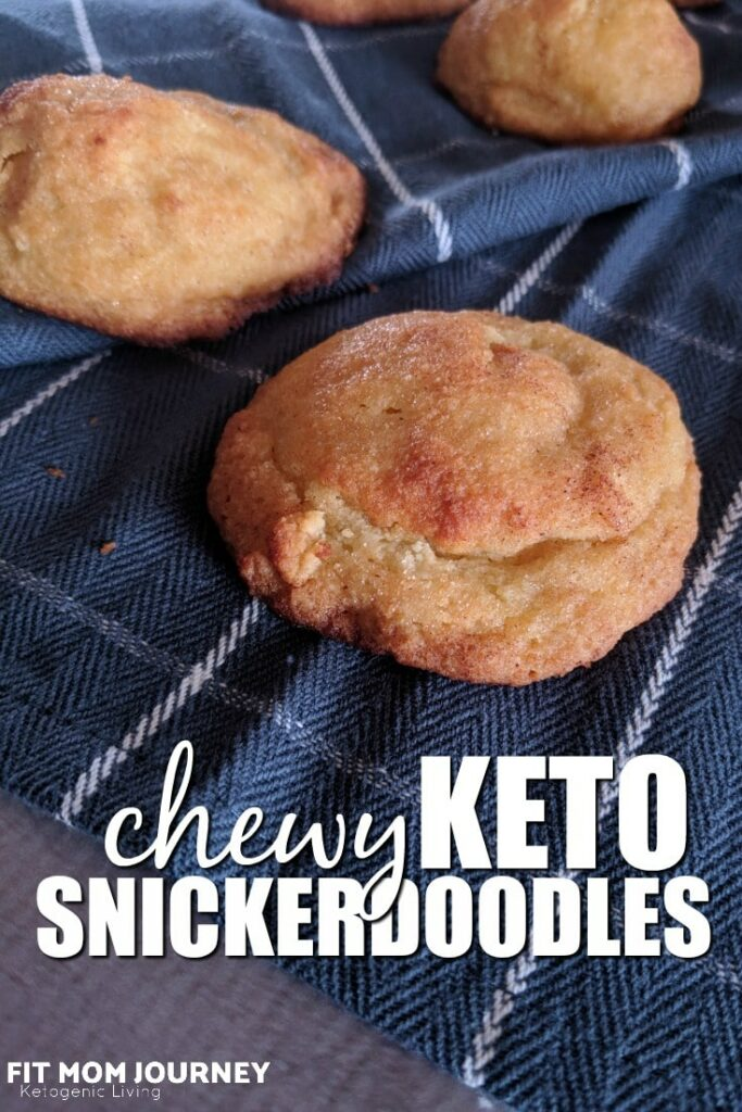 This is one of those recipes that really doesn't need much of an introduction. I've been promising my husband I would perfect a Keto Snickerdoodle recipe for some time now, and now I've perfected it!