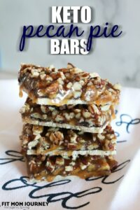 I created one last Keto Easter recipe for ya'll: Keto Pecan Pie Bars!  Super easy to put together, using ingredients already in your pantry, these bars will be a hit at your celebration.