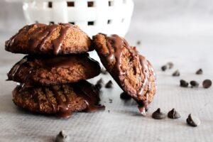 A deliciously chocolatey baked treat that is a cross between a cookie and a brownie, Keto Brookies are the best of both worlds - with macros that fit within a ketogenic diet.