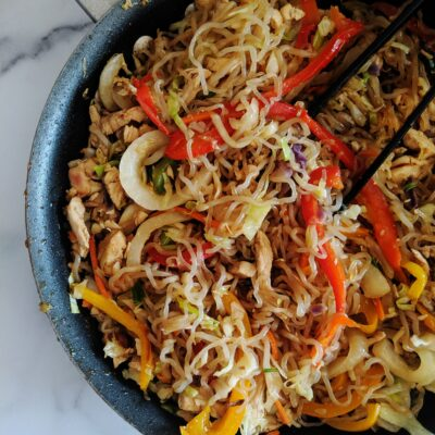 Keto Lo Mein {Just like takeout!}