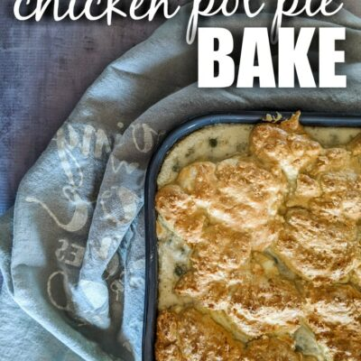 Keto Chicken Pot Pie Bake