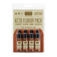 "KETO ""Fruit"" Flavor 4 Pack - Flavored Liquid Concentrate"