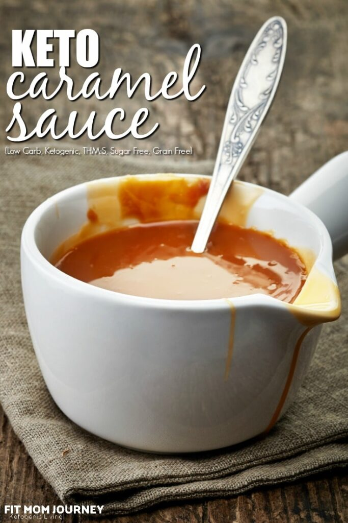 A delicious Keto Caramel Sauce ready in just 15 minutes!  True to taste and texture, perfect for ice cream, desserts, and more.