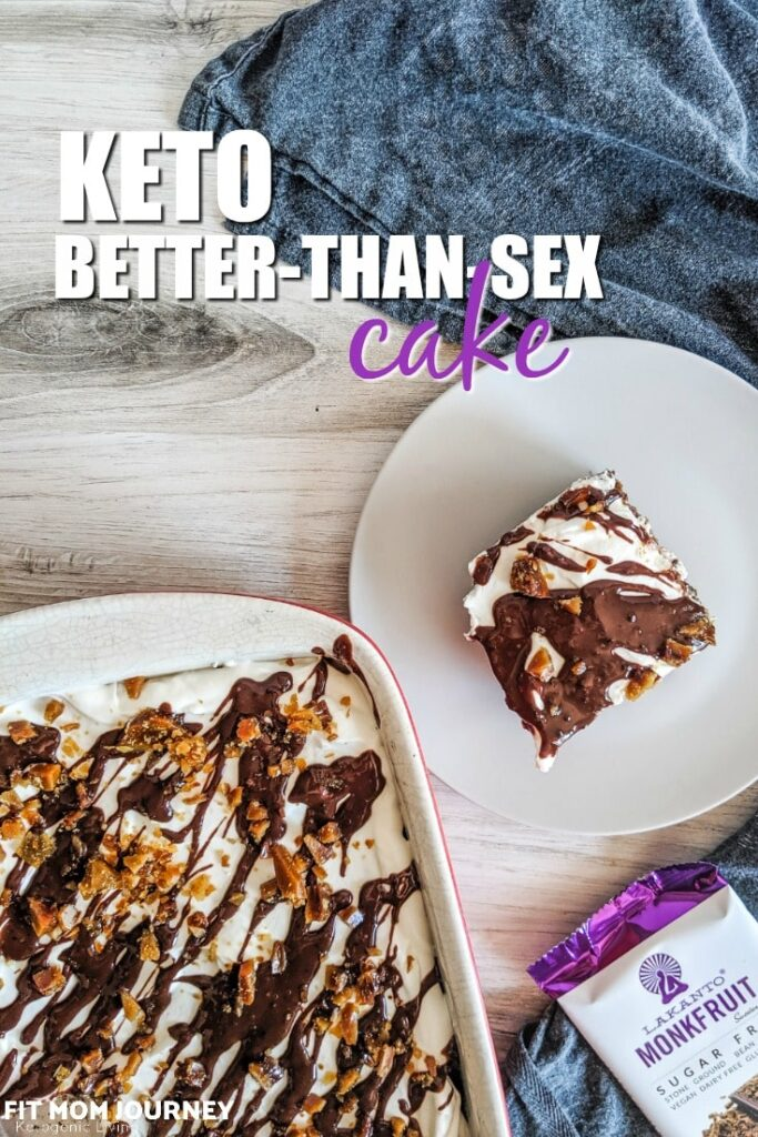 Have you ever had Better Than Sex Cake? My Keto Better Than Sex Cake is just as good as the original, but without all the sugar, grains, and carbohydrates!