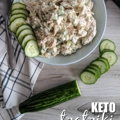 Keto Tzatiki Chicken Salad