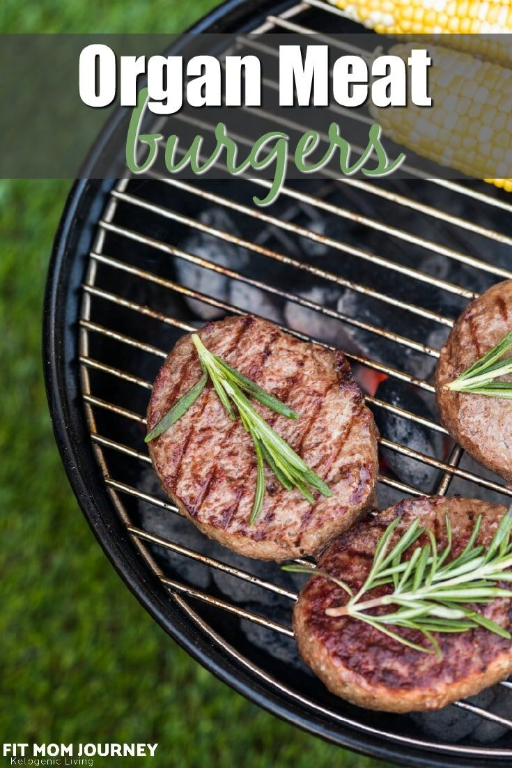 Don't like organ meats?  Me either!  But, I can hardly tell I'm eating them when I make these Organ Meat Burgers.  Even better, eating organ meats is like taking nature's most potent multivitamin - everyone can benefit!