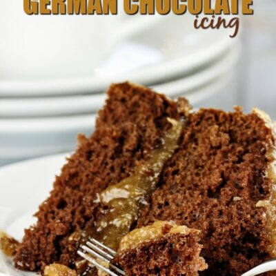 Have a German Chocolate Cake lover in your house?  My Sugar Free German Chocolate Icing works perfectly on chocolate cake or cupcakes for a delicious treat.