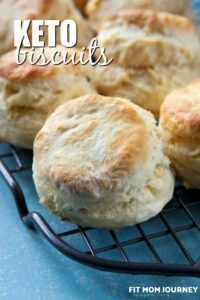 These soft and fluffy Keto Biscuits take less than 30 minutes from start to finish, and require no special ingredients. Husband approved!