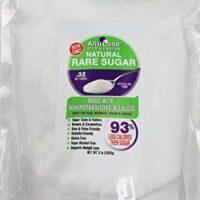 ALLULOSE Natural Rare Sugar, 3 lb. Low Carb & Calorie Non-GMO Crystalline, Keto & Diabetic FriendlyLow Carb