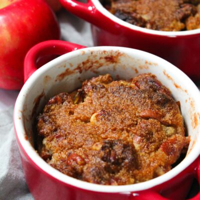 Keto Mini Apple Crisp