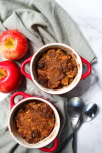 These Keto Mini Apple Crisps are a no-fail dessert perfect to wow dinner party guests with, yet simple enough for a night at home.