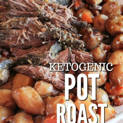 Sundays are for pot roast, but you don't need to miss out if you're low carb or keto.  Slow Cooker Beef Pot Roast requires minimal effort for maximum flavor, and some clever swaps will make up for not having potatoes.
