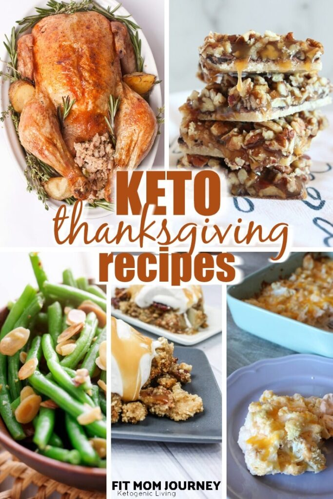 Keeping keto at Thanksgiving is now easier than ever!  I've got all the best Keto Thanksgiving Recipes from appetizers and sides, to main dishes and showstopping desserts!  You don't have to miss out on all the wonderful traditional Thanksgiving foods when you can make them Keto!