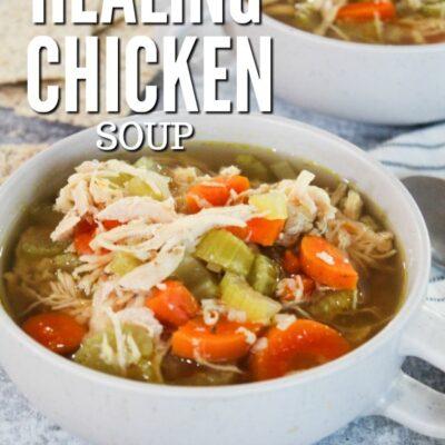 Healing Keto Chicken Soup
