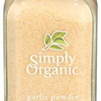 Simply Organic Garlic Powder | Certified Organic | Kosher Certified | 3.64-Ounce Glass Bottle