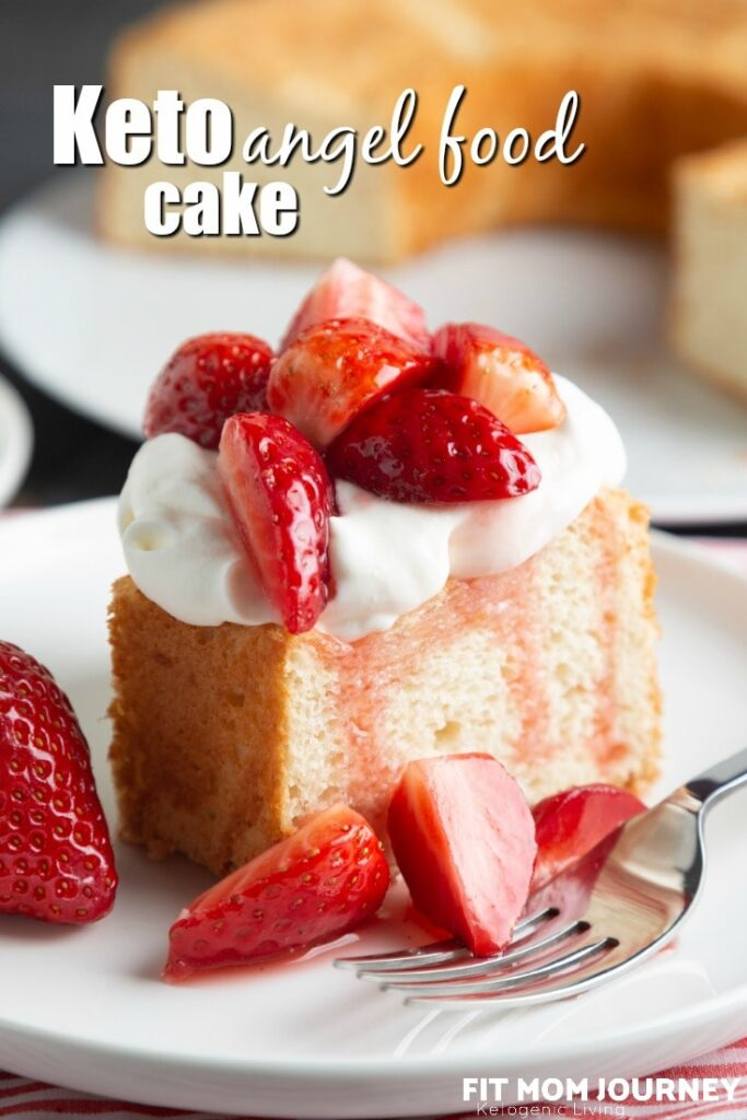 Keto Angel Food cake is a light and fluffy versatile cake made mostly with egg whites.  It's light texture and flavor make it able to be used for a variety of purposes and during many seasons.