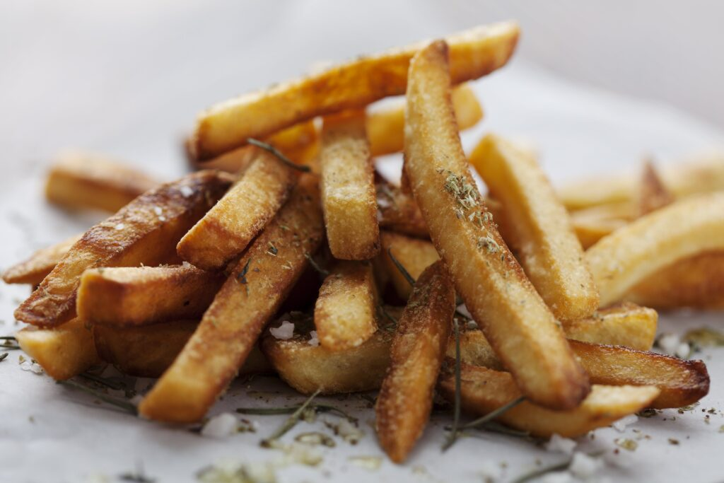 Turnips are a delicious low carb alternative to potatoes. They makes excellent potato salad, and in this case they're excellent as Low Carb Turnip Fries.