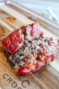 In cooler weather we all crave comfort foods, and for our family this Keto Meatloaf Recipe comes in handy when we want warm, hearty foods.  Top it with paleo ketchup or my own recipe {which I've shared} for a delicious, ketogenic dinner.