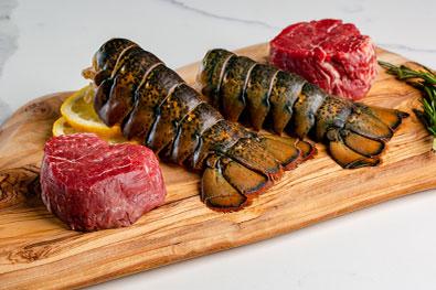 Free Lobster + Filet Mignon!