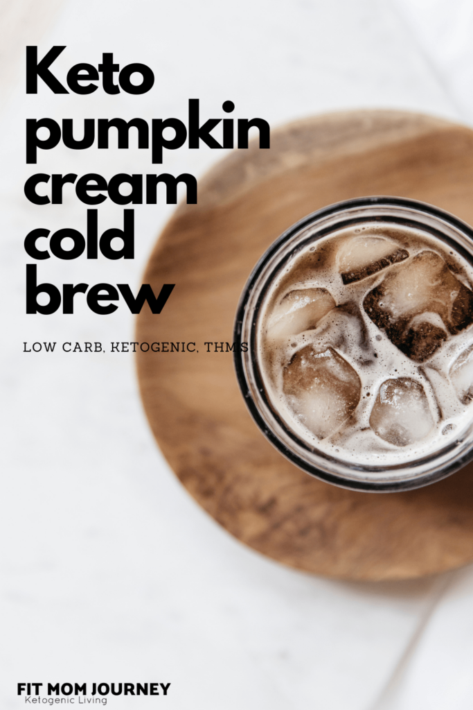 It's fall, and you know what that means: I'll be fitting Pumpkin Cream Cold Brew into my low carb macros. And when I can't, I make my own Keto Pumpkin Cream Cold Brew - without all the carbs and sugar!