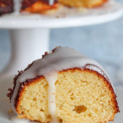 Keto Lemon Bundt Cake