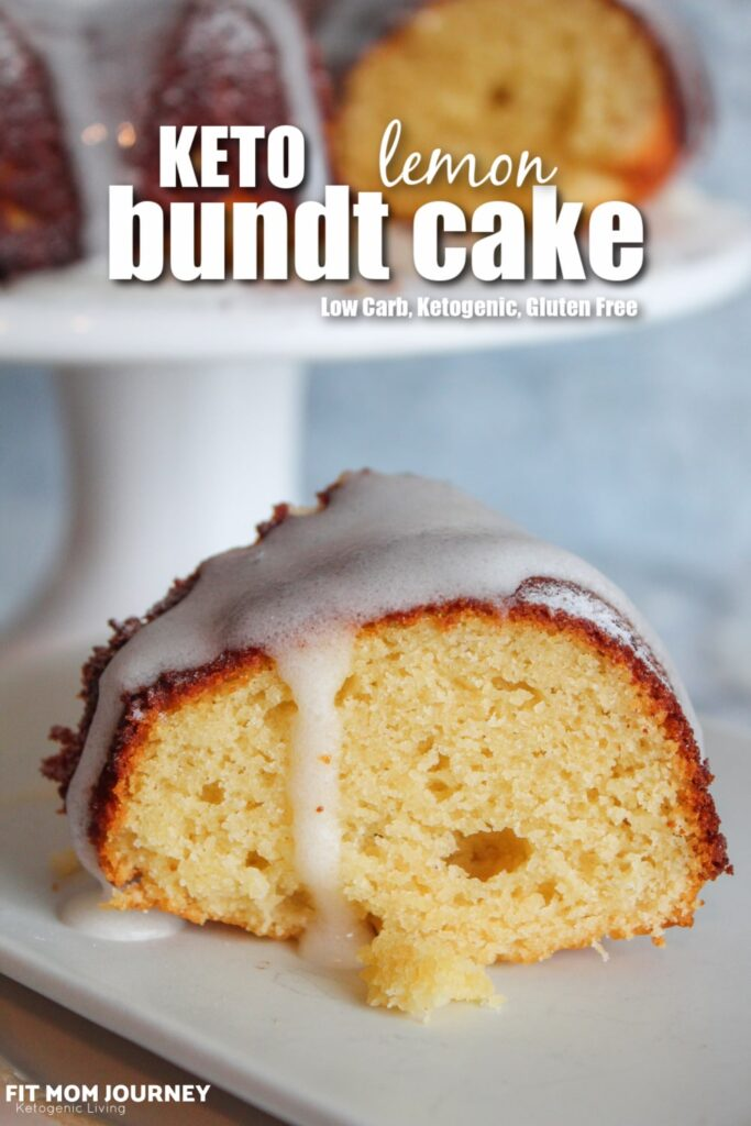 Flavored with lemon juice and covered in a tart lemon glaze, Keto Lemon Bundt cake is the ultimate light and refreshing dessert. It is low carb, high fat, ketogenic, and a THM:S, the perfect Keto Easter Dessert!