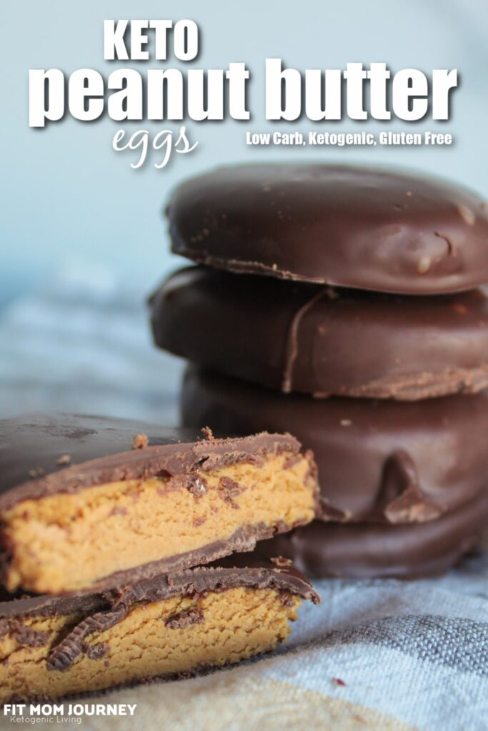 A classic Easter egg candy made keto, these Reese's copycat Keto Peanut Butter Eggs are a wonderful low carb, high fat substitute that is easy to make and so, so satisfying.