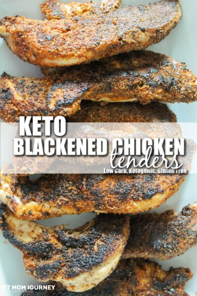 Fast-food copycat Blackened Chicken Tenders are my take on a cult favorite. Paired with a creamy ranch, coleslaw, and vegetables they make a great dinner ready in 20 minutes.